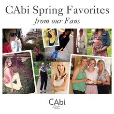 #CAbi – Get more outfit inspiration from our CAbi Girls! Click on the image and see some of their spring favorites. #cabiclothing #summer #spring #style