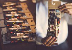 Groomsman gift idea | Photo by  Ryan and Heidi Studio | Read more -  http://www.100layercake.com/blog/?p=79446
