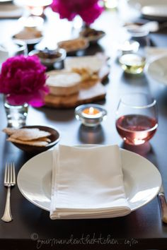 Easy Entertaining | Dinner Party Ideas via @Sylvie | Gourmande in the Kitchen