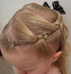 Little girls hair! Cute