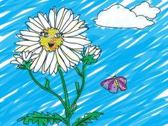 Want a fun activity to introduce Daisies to the Flower Friends? Download a coloring page here.
