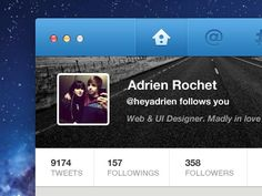 ui design / Twitter