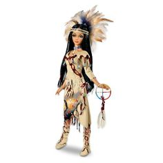 Eagle Medicine Woman Ball-Jointed Doll by Ashton Drake « Game Searches