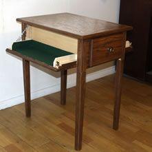 Covert Furniture Side Table with Hidden Gun Storage