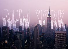 graphic design, big apple, dream, city lights, new york city, place, york citi, bucket lists, empire state