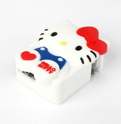 Charge it up with cuteness! #HelloKitty USB Wall Charger for iPhones, iPads and anything else with a USB charge point