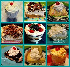 Cool and Creamy Salads and Desserts!