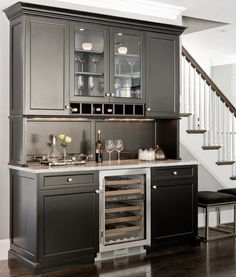 Kitchen bar storage