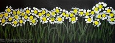 /Q tip flowers