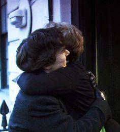 I love the relationship between Sherlock and Mrs. Hudson.