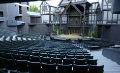 The Oregon Shakespeare Festival, in Ashland's Lithia Park, plays host not only to some of the Bard of Avon's famous apparitions, but also to the ghost of a girl murdered in the 19th century. She appears shrouded in blue light and has driven some visitors to hysteria. (From: Photos: 10 Haunted Theaters)