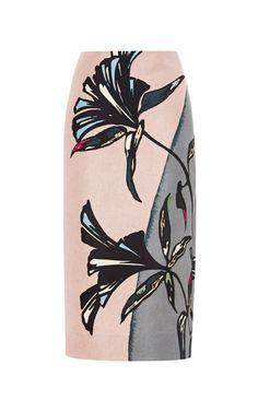 Printed Pencil Skirt by Marni - Moda Operandi