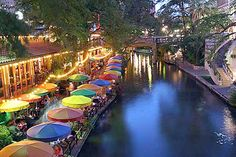 San Antonio, Texas. The River Walk