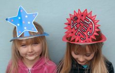 4th of july crafts hats
