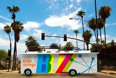 One of three proposed designs for the Palm Springs BUZZ.