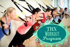TRX Workout Program - TRX Workout Program - http://www.gymworkouts.co/trx-workout-program/