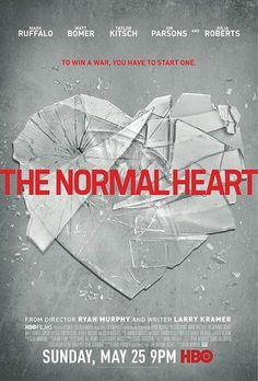 """""""THE-NORMAL-HEART""""..HBO Makes Yet Another """"Made For Cable TV Movie"""" Hit!!  A Superb Film Based On A True Story!!  Ruffalo Is Superb In the Lead Role & Julia Roberts Simply Shines As the Doctor Who Helped Put Together The AIDS Puzzle In Early 1980's NYC...A Big Nod To Jim Parsons In A Fine Supporting Role...Straight, Gay, Whatever...This Is A Moving About Real People, A Killer Epidemic, and A Disease No One Wished To Cure..5 Big Stars!!"""