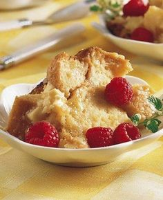 Slow Cooker White Chocolate Bread Pudding.