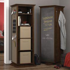 Costco: Ryder Swivel Bookcase - Chocolate