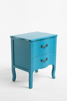 Turquoise Lola side table