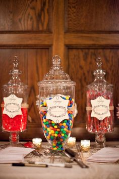 Love this idea for a dessert table...