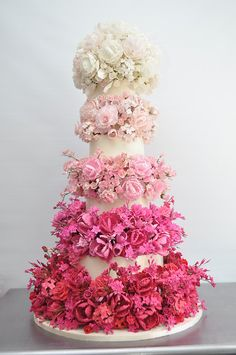 Ombre cake by Sylvia Weinstock #Engaged2014