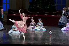 2013 Nutcracker Party Scene #LincolnMidwestBalletCompany #PaigeThompson #PurpleSkyProductions
