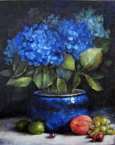 Rhapsody in Blue 16 c 20  by Trudy Beard Lazaroe