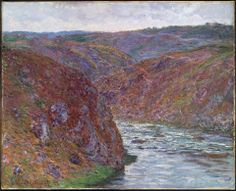 Claude Monet, Valley of the Creuse, Gray Day, 1889.
