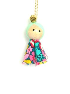 puppet necklace