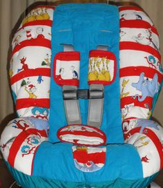 Awesome hand made car seat cover on Etsy!