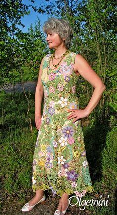 conjunto crochet irlandes señora 3