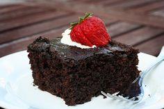 Chocolate Zucchini Fudge Cake
