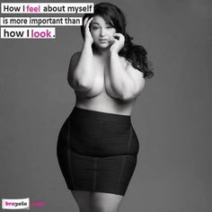 curvy ladies. confidence.