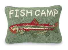 Fish Camp Pillow