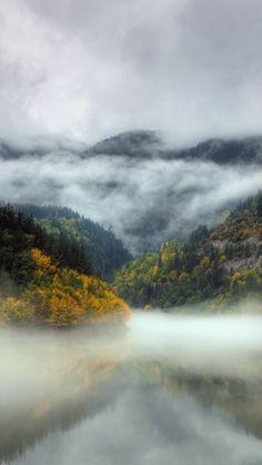 Bulgarian Misty Landscape