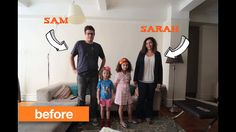 See how Sarah and Sam bring personality, light, and color into their family room with a new paint color. Part of our Boldest Before & Afters series with @Apartment Therapy paint color, famili room