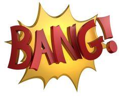 """""""Bang,"""" sign"""