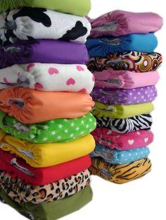 Cute cloth diapers