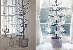 christma inspir, scandinavian christma, christma tree, christma idea, christmassi thing