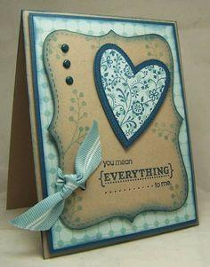 valentin card, card idea, cc201, card inspir, crafti crafterson, color, scrap paper cards, diy craft, heart cards