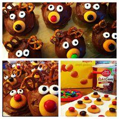 Super easy cupcakes I made for Christmas Eve dessert.