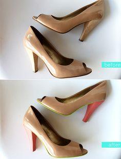DIY Shoe Update