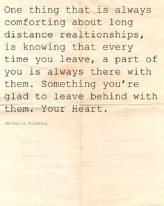 Love. Long Distance Relationship. Your heart...