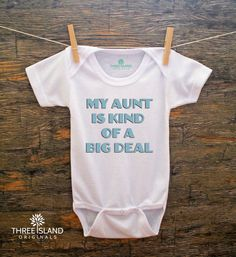 SALE//Graphic One Piece Baby Bodysuit for Baby Boy or Baby Girl,Baby Clothes,Baby Shower,Baby Christmas,Baby Birthday,Aunt Gift,Best Aunt