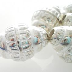 Silver Metal Large Jewellery Beads 6 - Spoil Me Silly Jewellery