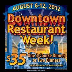 Downtown Restaurant Week 2012
