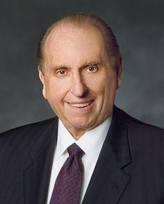 """May I suggest a formula that will ensure our success: first, search the scriptures with diligence; second, plan your life with purpose (and, I might add, plan your life regardless of your age); third, teach the truth with testimony; and fourth, serve the Lord with love."" -President Thomas S. Monson"