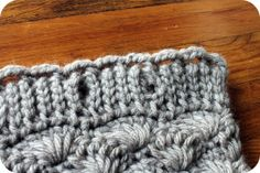 The Shell Cowl: Free Pattern