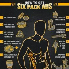 Get your 6 pack abs!